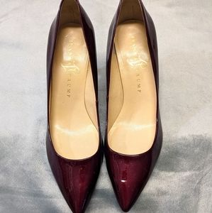 Ivanka Trump Red Patent Pumps Leather Sole Size 7